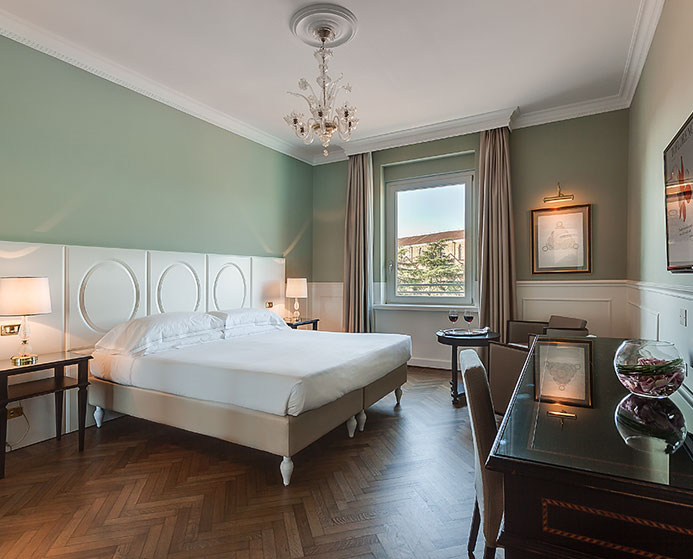 rooms hotel center 4 star superior Florence